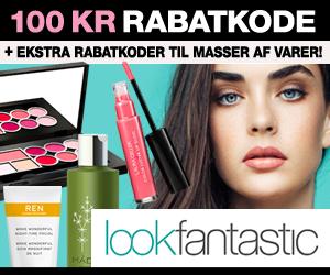 100 kr Lookfantastic + 75% rabat