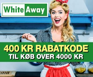 400 kr WhiteAway rabatkode