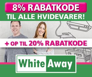8% WhiteAway rabatkode