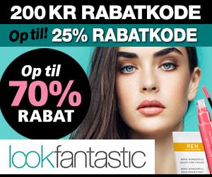 25% Lookfantastic rabatkode