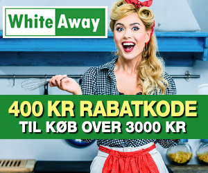 WhiteAway 20% rabatkode