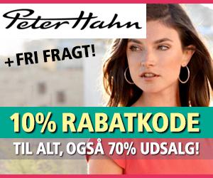 PeterHahn 10% rabatkode