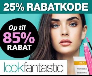 25% Lookfantastic + 75% rabat