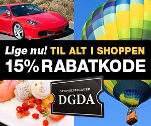 DuGlemmerDetAldrig DGDA 15% rabatkode