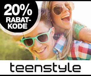 20% Teenstyle rabatkode