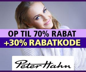 PeterHahn 30% rabatkode