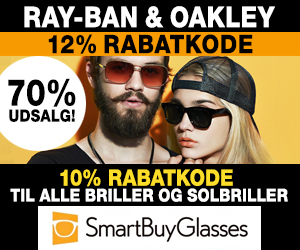 70% Smartbuyglasses + 12% rabatkode