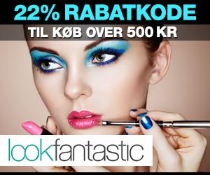Lookfantastic 22% rabatkode