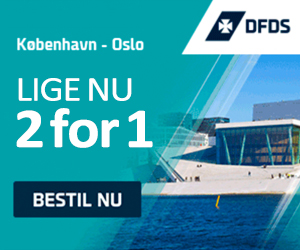 2 for 1 Booking kode DFDS Seaways