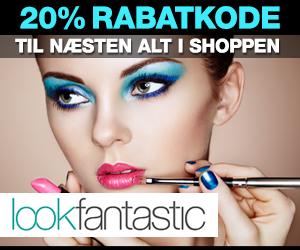 Lookfantastic 20% rabatkode
