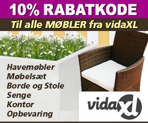vidaxl 10% rabat til møbler