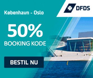 Booking kode DFDS Seaways