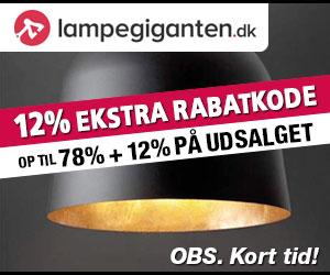 12% Lampegiganten rabatkode