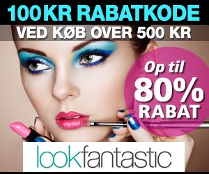 Lookfantastic 100 kr rabatkode