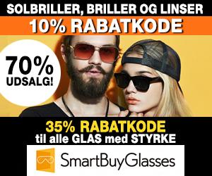 40% rabatkode Smartbuyglasses