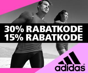 Adidas 15% rabatkode