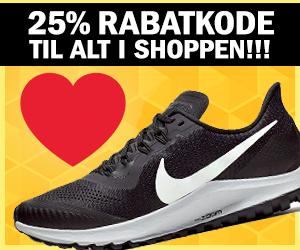 25% Nike kampagnekode