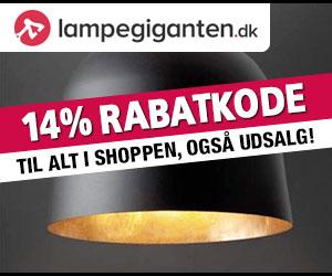 14% Lampegiganten rabatkode